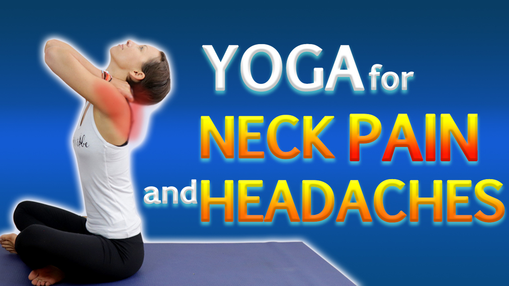 20 Minute Restorative Yoga Flow for Neck Shoulder Pain and Headaches