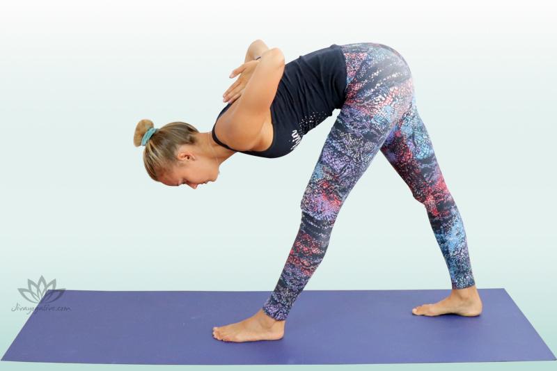 Intense Side Stretch Pose - Parshvottanasana