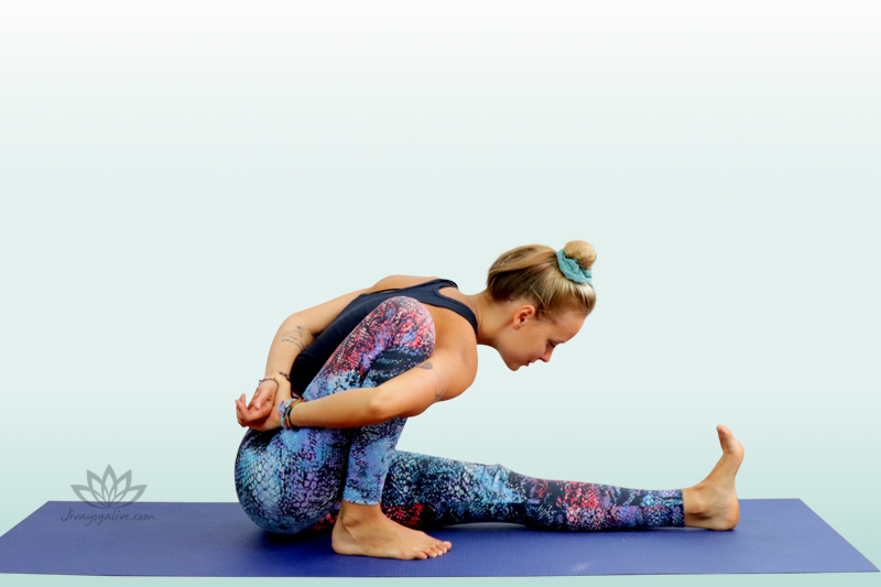 Pose Dedicated to the Sage Marichi A - Marichyasana A