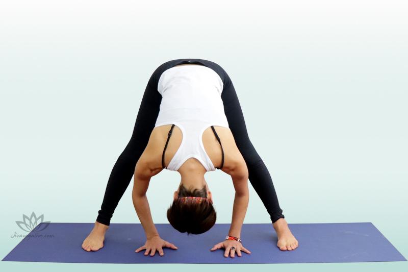 Wide Angle Forward Bend Pose - Upavishta Konasana