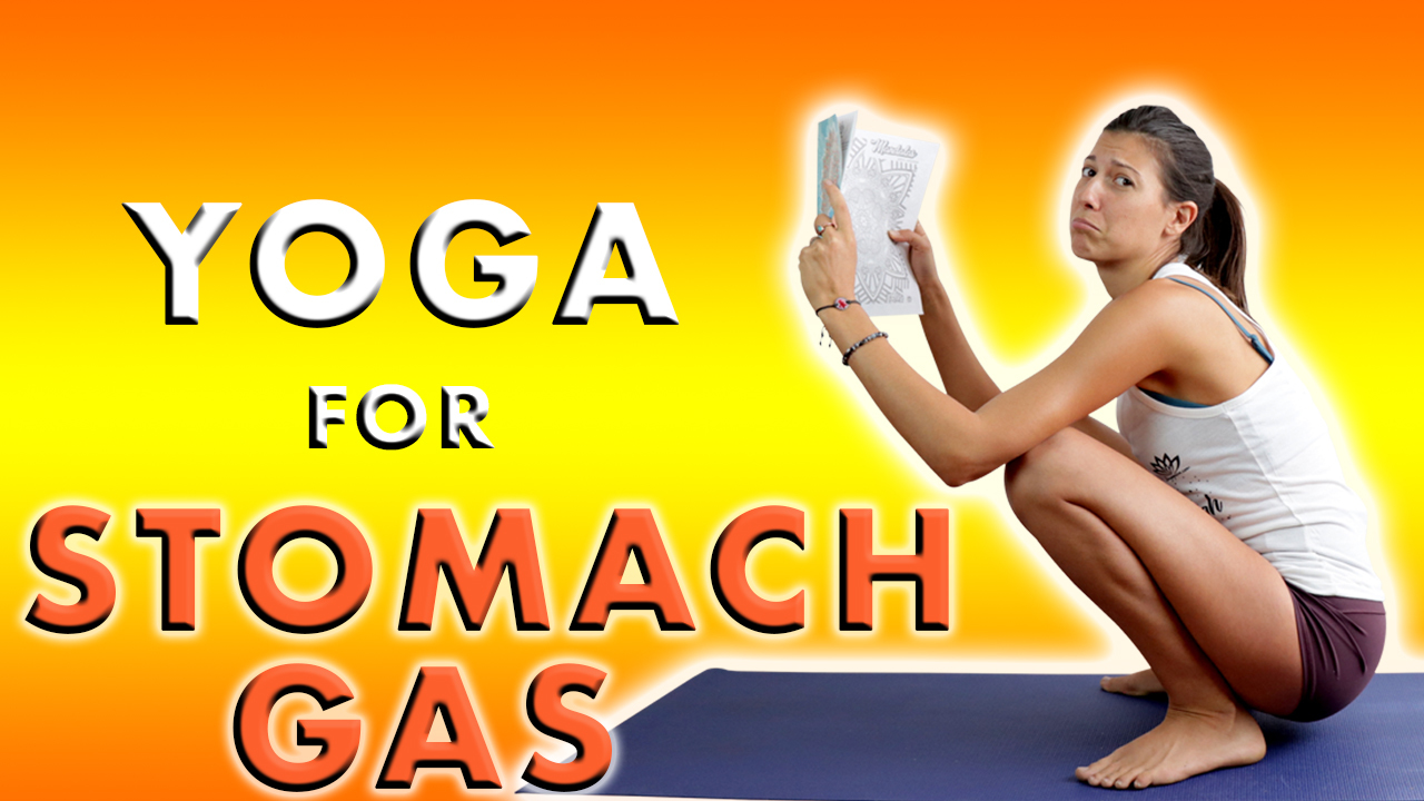 yoga for stomach gas