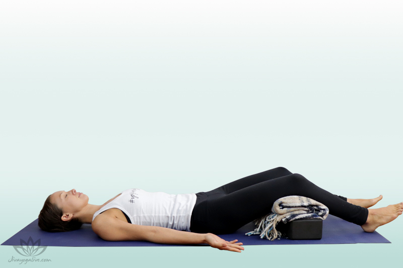 Supported Corpse Pose - Shavasana