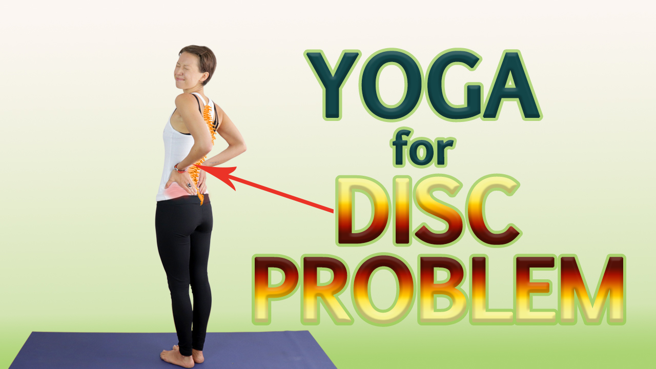 yoga for disc problem