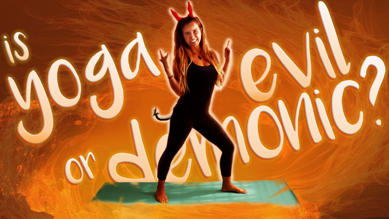 is yoga evil or demonic