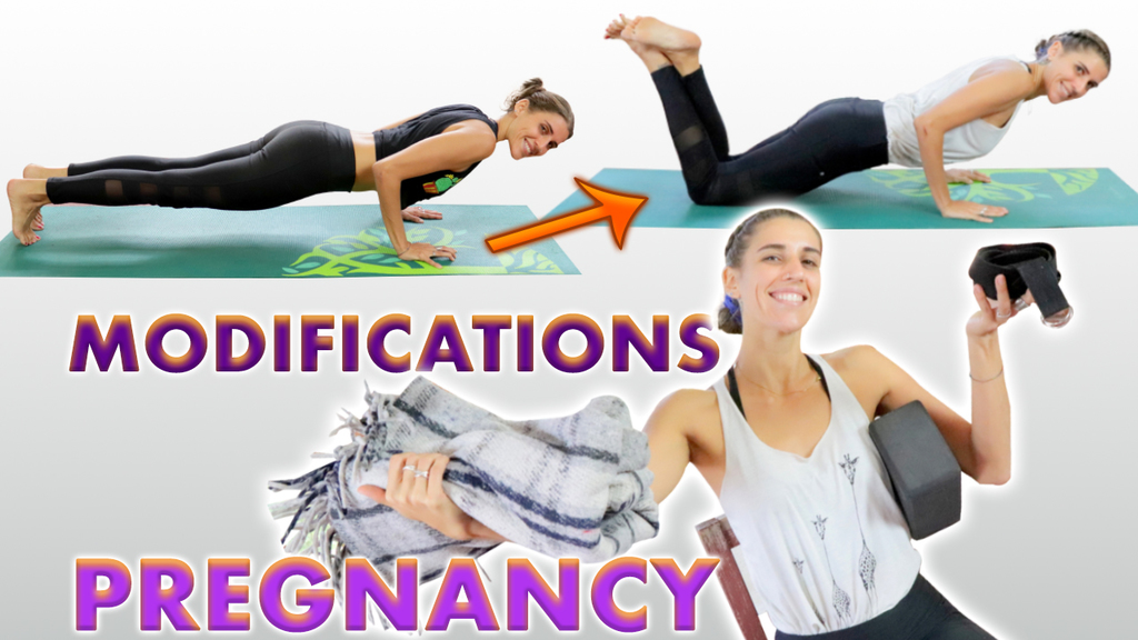 10 yoga poses modified for pregnancy