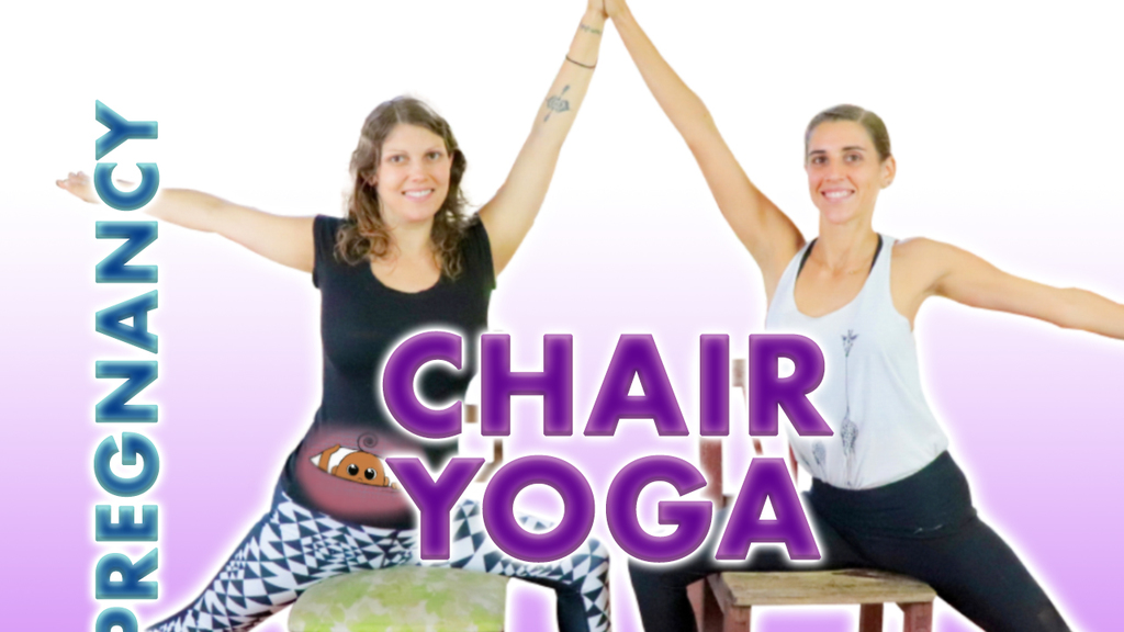 Chair yoga for pregnancy