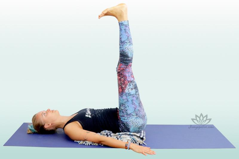 Legs-Up-the-Wall Pose - Viparita Karani