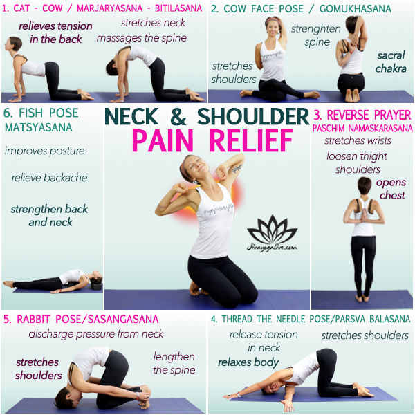 how to get rid of pain in neck and shoulder infographic_HC105- 13
