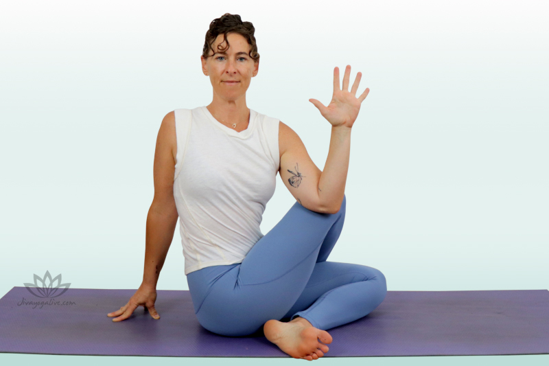 Half Lord of the Fishes - Ardha Matsyendrasana