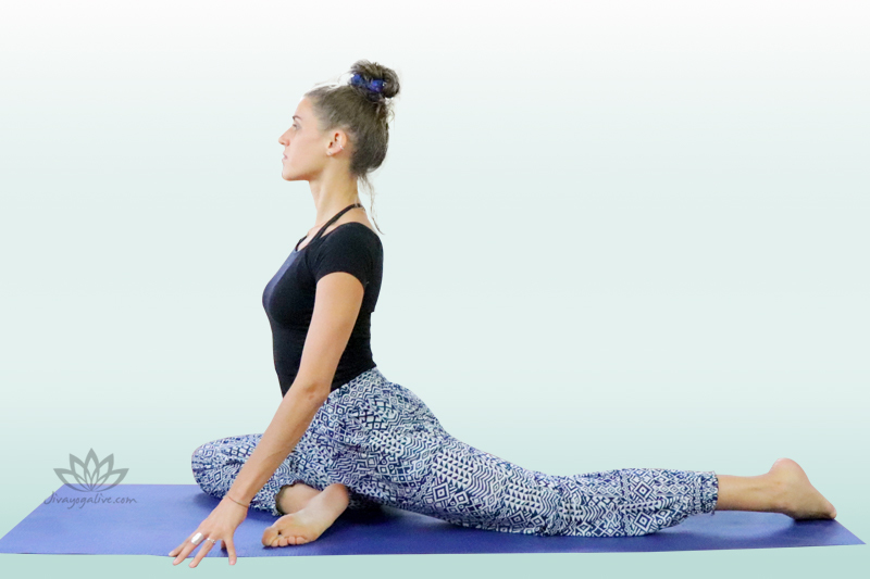 One-Legged King Pigeon Pose - Eka Pada Raja Kapotasana