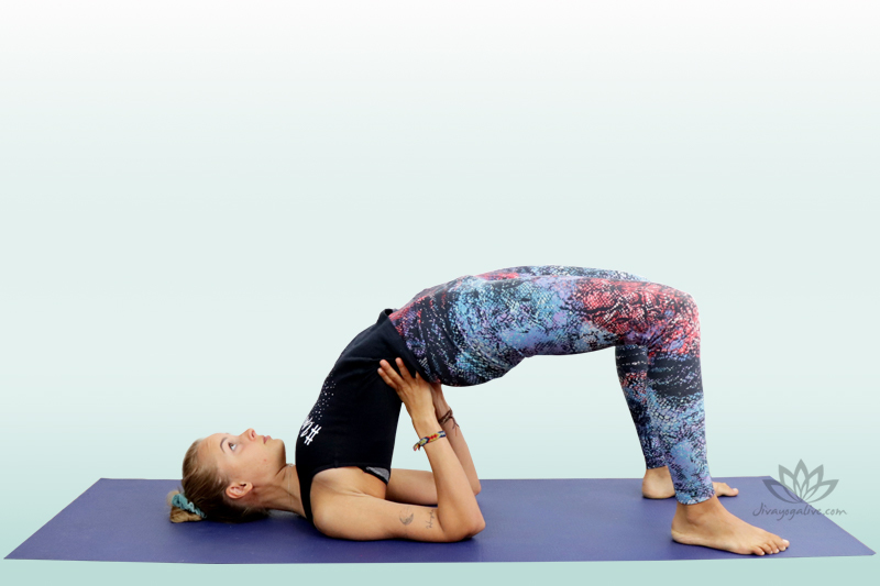 Supported Bridge Pose - Setu Bandhasana