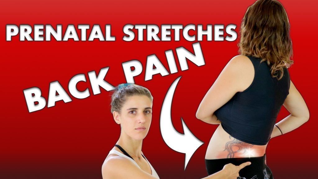 pregnant stretches for back pain