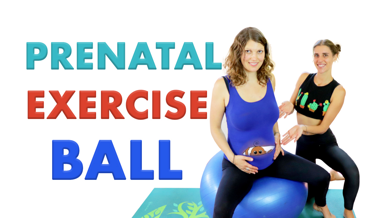 yoga ball pregnancy exercises