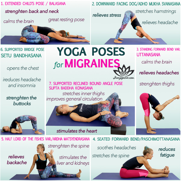yoga for tension headaches migraines infographic_CM108-10